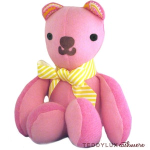 Image of teddylux cashmere bear - girl