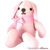 Image of teddylux cashmere bunny - girl