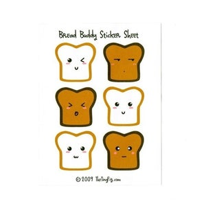 Image of Bread Buddy Stickers