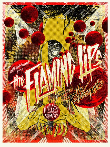 """Image of The Flaming Lips """"A Galaxy In Me"""""""