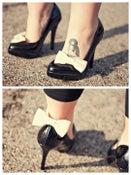 Image of Felt Bows Shoe Clips