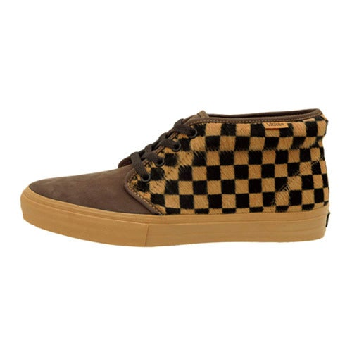 Image of Vans Vault Checkered Pony Chukka LX sneaker