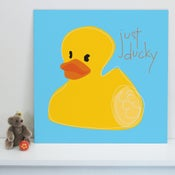 """Image of """"Just Ducky"""" art print"""