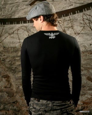 Image of MIR101 [THE IMPERIAL OWL] Long Sleeve Shirt - THIS ITEM SHIPS FREE TO US and CANADA