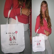 """Image of """"Bring Out The Love In You"""" Canvas Bag"""