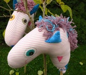 Image of Retro Inspired Stick Horse Made to Order