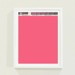 Image of PANTONE® Letraset Posters × Pinks
