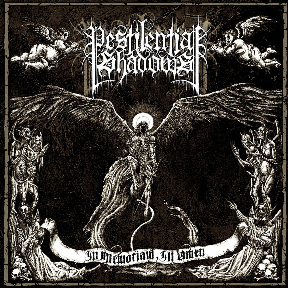 "Image of PESTILENTIAL SHADOWS ""In Memoriam, Ill Omen"" CD"