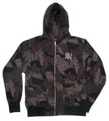 Image of Burn Crew Camo Zip Hood