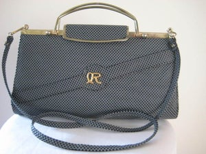 Image of Fabulous blue clutch/handbag