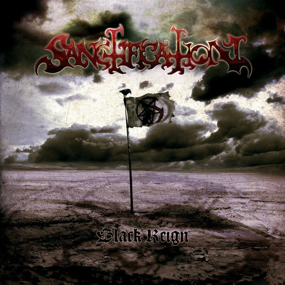 "Image of SANCTIFICATION ""Black Reign"" Super Jewel Box CD"