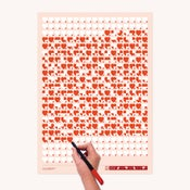 Image of Life Calendar: Love Life, Day by Day