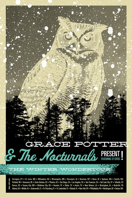 Image of Grace Potter & The Nocturnals - Winter Wondertour '11