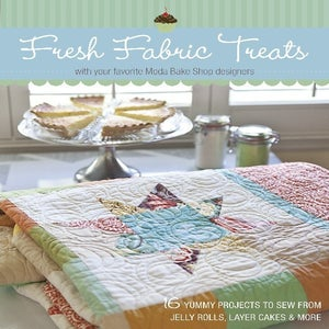 Image of fresh fabric treats. (moda bake shop book)