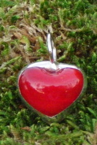 Image of bubble heart charm