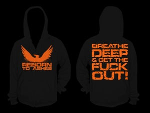 Image of ''GET THE FUCK OUT'' hoodie