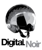 "Image of Digital Noir ""Casque Logo"" T-Shirt"