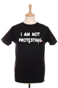 Image of Not Protesting Mens Tee (Black)