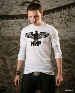 Image of MIR104 [THE MIR EAGLE] Long Sleeve Shirt - THIS ITEM SHIPS FREE TO US and CANADA