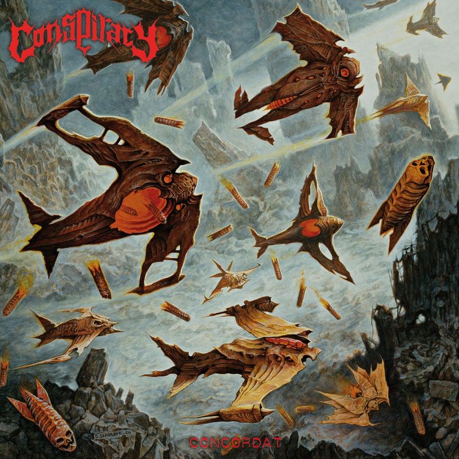"Image of CONSPIRACY ""Concordat"" Super Jewel Box CD"