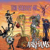 Image of VALLEY OF THE ARKHAMS- CD