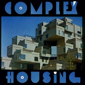 "Image of Salva's ""Complex Housing"" Blue Vinyl LP"