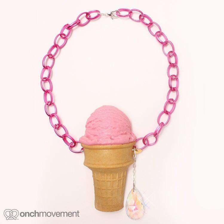 Image of Strawberry Scoop Cone