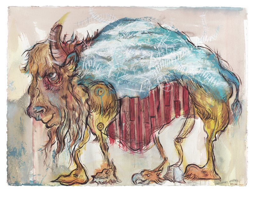 """Image of """"There is No American Buffalo"""""""