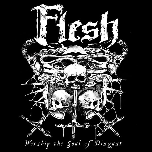 "Image of FLESH ""Worship The Soul Of Disgust"" Super Jewel Box CD"