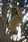 Image of hooded backpack aforestdesign/burel