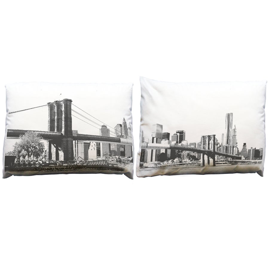 Image of Brooklyn Bridge Pillowcase Set