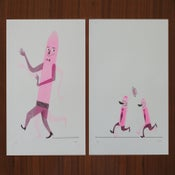 Image of Running Joke A/AA – Set of Prints.