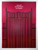 Image of Graveyard poster LA 09