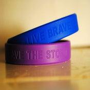 """Image of Brave The Storm """"Live Brave"""" Bracelets"""