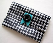 Image of Houndstooth Felt Pouch