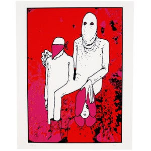 Image of Noah Butkus limited edition Screen Print