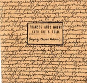 "Image of 2009 EP ""Frances Goes Where Ever She's Told"""