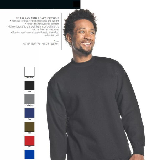 Image of Pro Club Fleece Sweatshirts