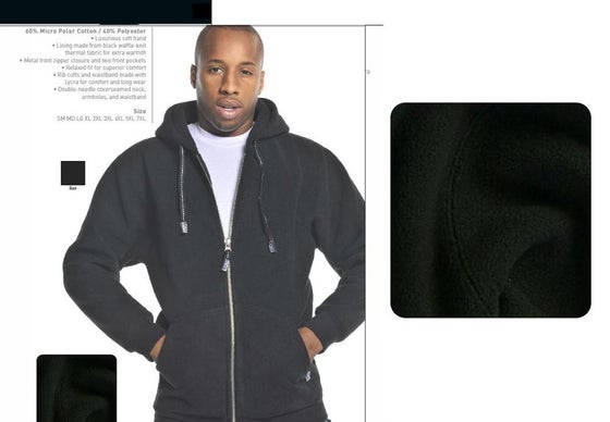 Image of Pro Club MICRO POLAR FULL ZIP