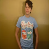 Image of Love Birds Shirt (Blue)