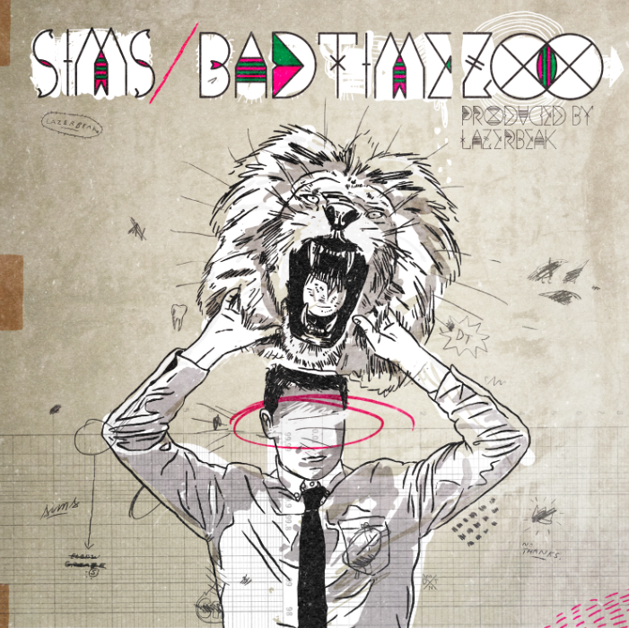 Image of Bad Time Zoo CD - SIMS