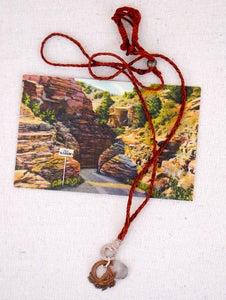 Image of Vintage Horseshoe Charm Necklace