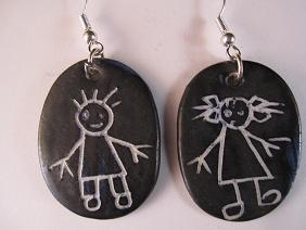 Image of Earrings boy and girl