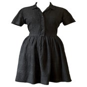 Image of Vintage 1950s Cotton Day Dress