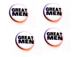 Image of Great Men - Badge