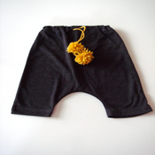 Image of Baby Pom Pom Harem Pants
