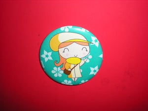 "Image of Pocket Mirror ""Irish lady"""