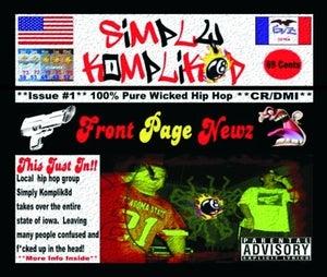 Image of Simply Komplik8d-Front Page Newz