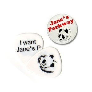 Image of Jane*s Parkway Button Pin or Guitar Pick