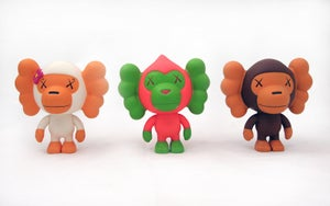 Image of KAWS Baby Milo set Limited Edition